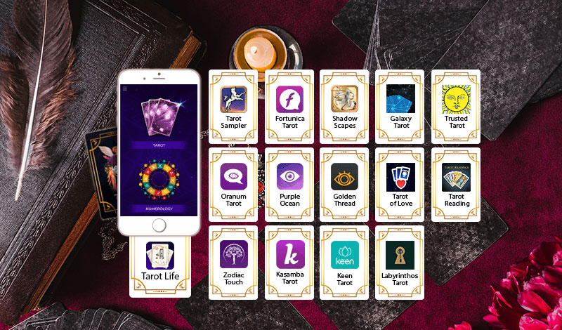 Top 15 Tarot Cards Reading App for Android & iOS
