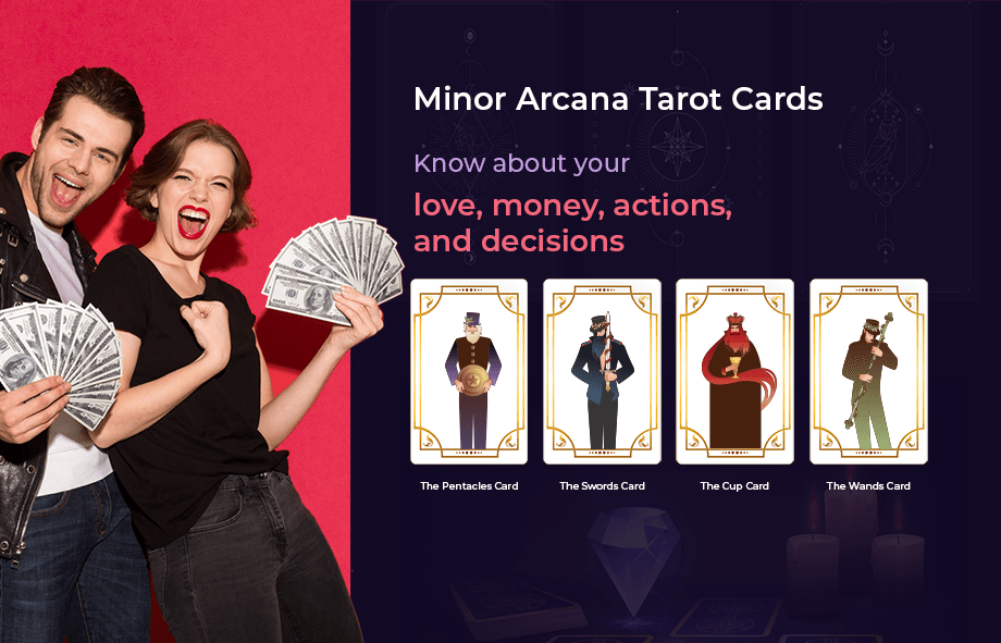 Minor Arcana Tarot Cards