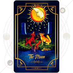 Pisces Tarot- The Moon