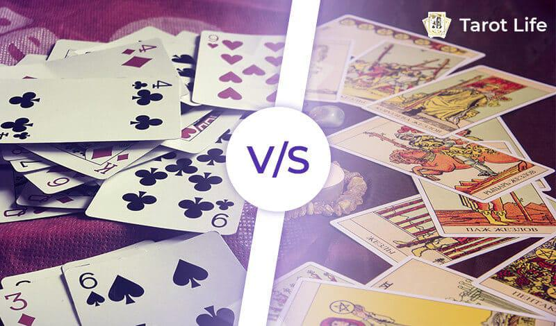 The Difference Between Tarot Cards and Playing Cards