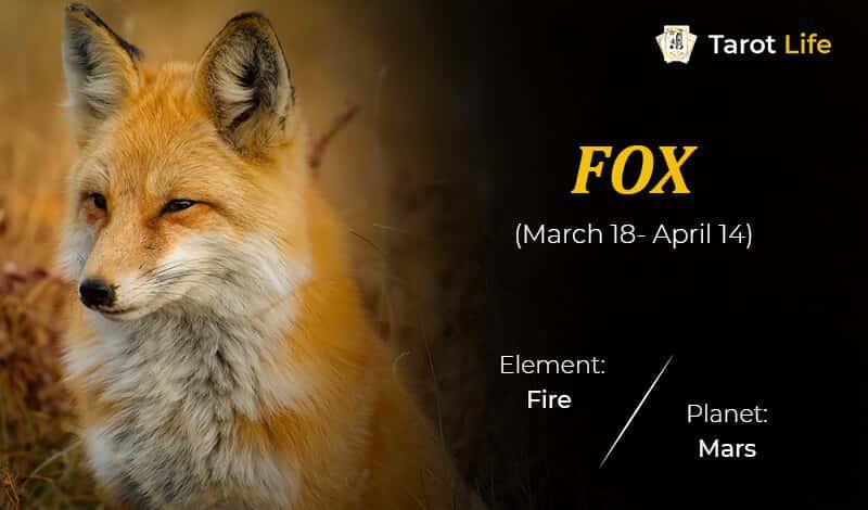 Fox-March 18- April 14