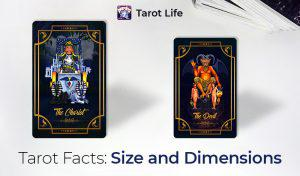 Typical Tarot Card Size and Its Dimension