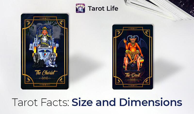 Tarot Facts - Size and Dimensions
