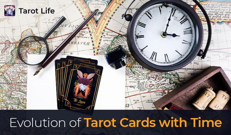 Evolution of Tarot Cards with Time