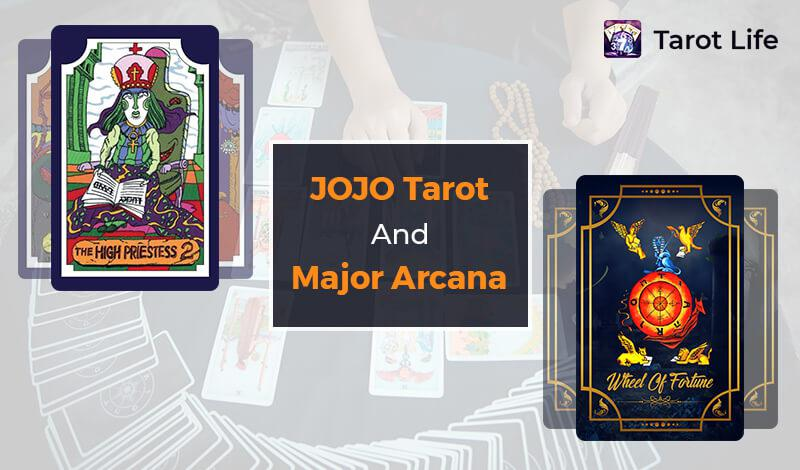 JoJo tarot cards and major Arcana