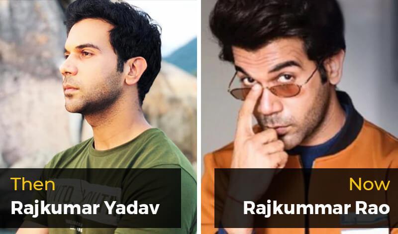 Then Rajkumar Yadav- Now Rajkummar Rao