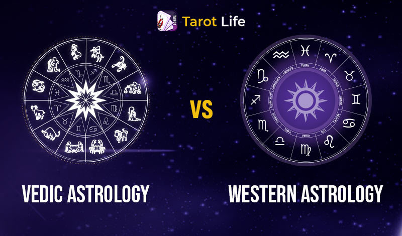 Difference Between Vedic Astrology and Western Astrology