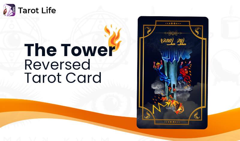 The Tower Tarot Card Reversed
